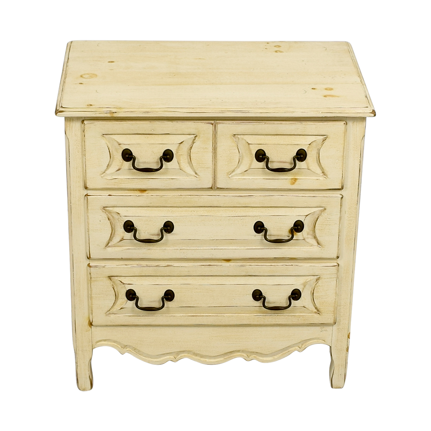 Habersham Plantation Rustic Three-Drawer Dresser / Storage