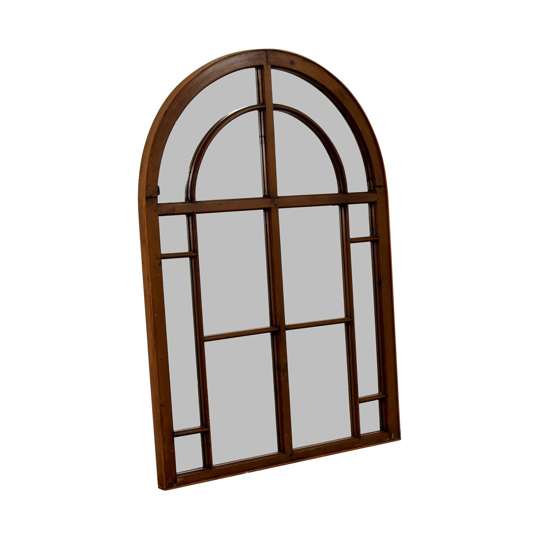 Antique Church Window Frame Mirror nyc