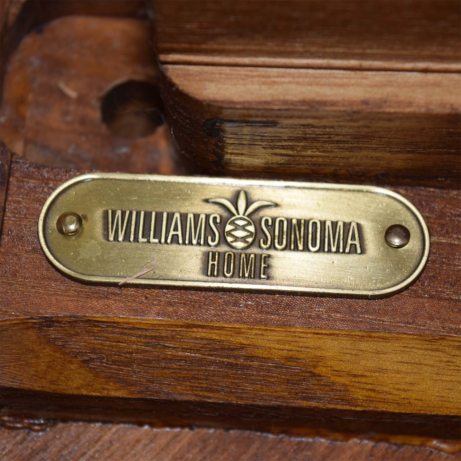William & Sonoma William & Sonoma Wood Dining Table with Extention Leaf price
