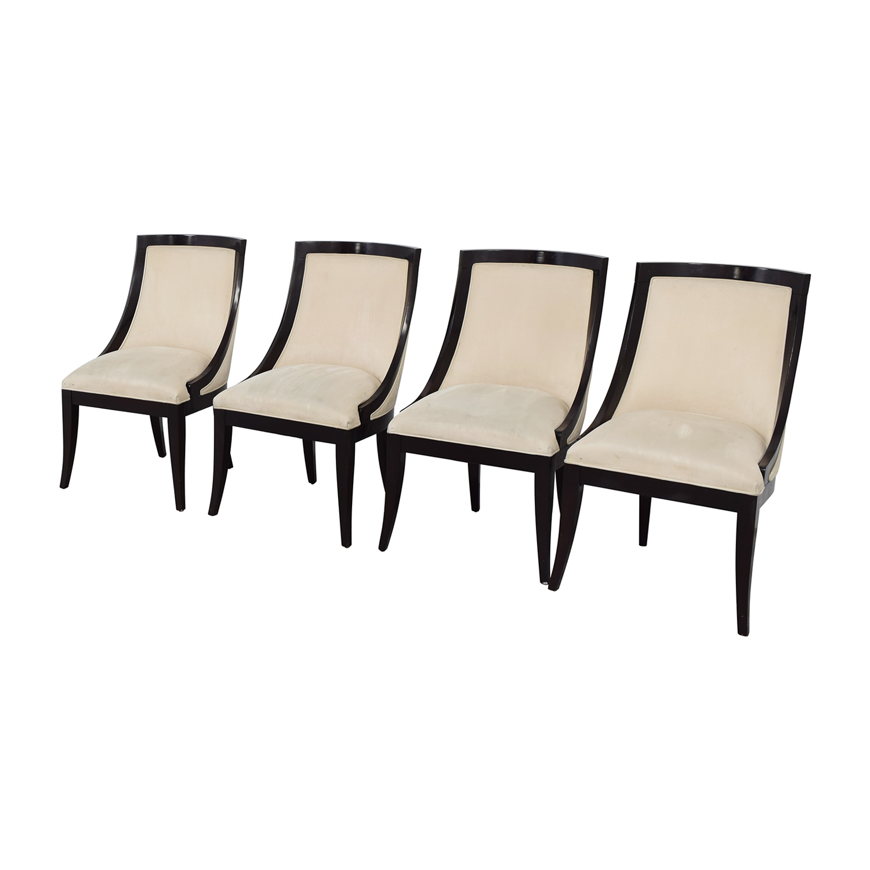buy Restoration Hardware Cream Upholstered Dining Chairs Restoration Hardware Dining Chairs