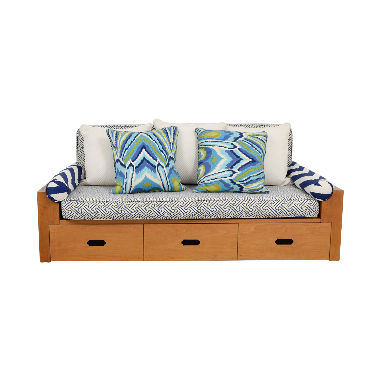 Custom Wood Daybed with Storage / Sofas