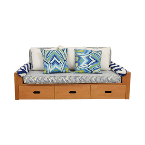 Custom Wood Daybed with Storage on sale