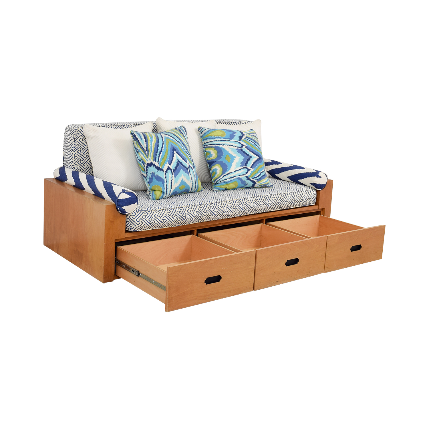 Custom Wood Daybed with Storage price