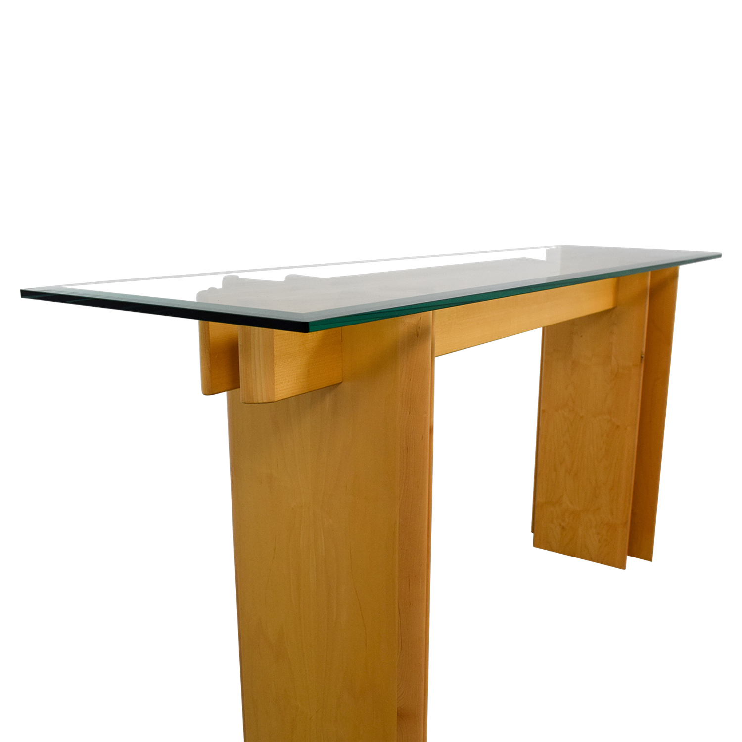 Scan Design Glass Accent Table Nyc