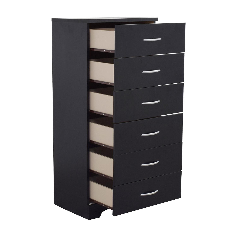 33 Off Tall Black Modern Dresser Storage