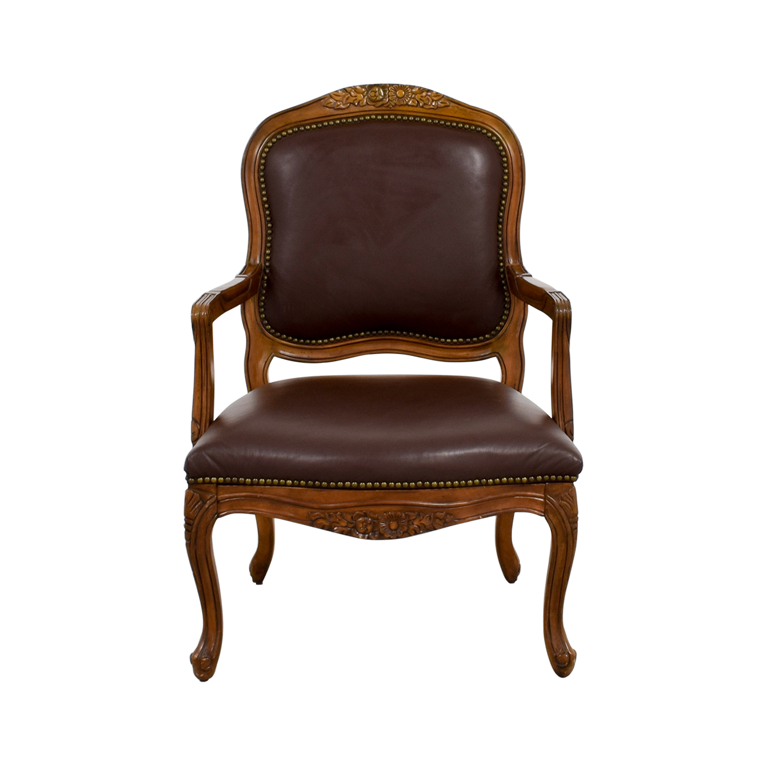 Leather Arm Chair sale