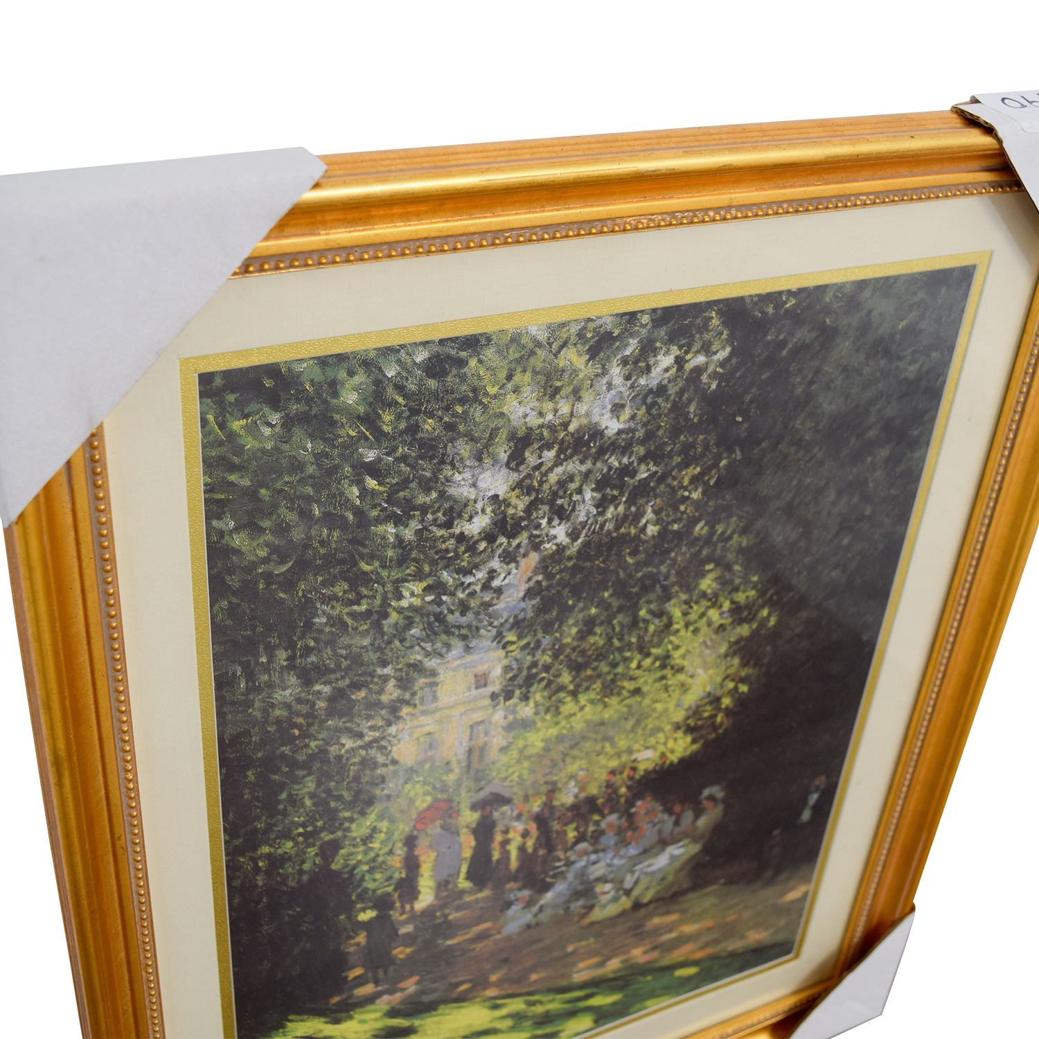 Claude Monet Promenade En Parc Print second hand