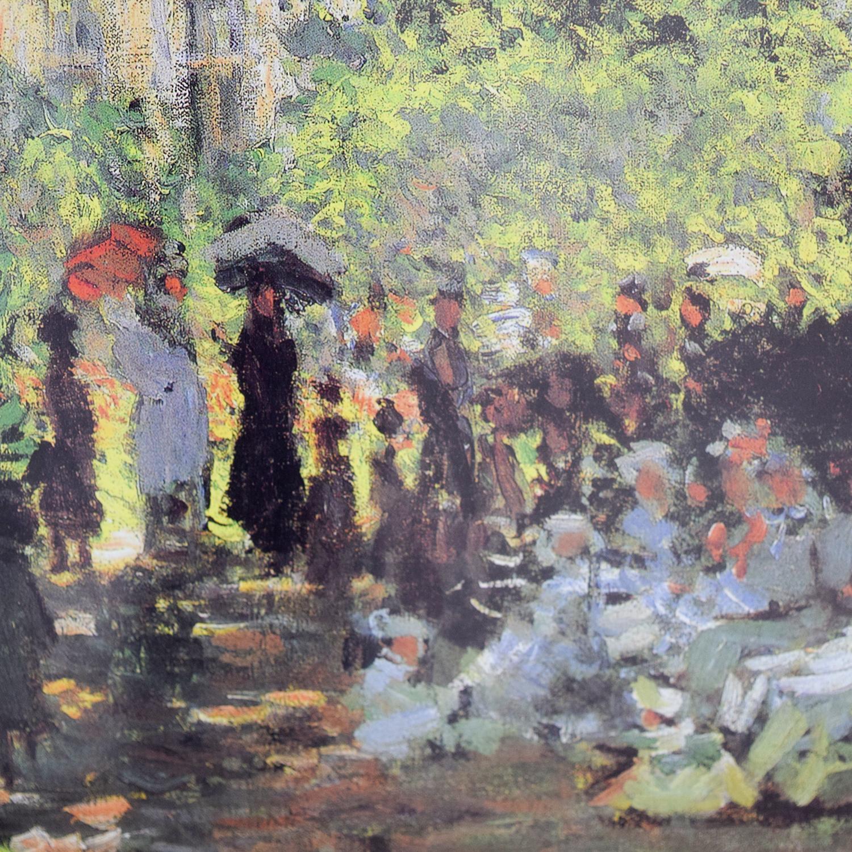 shop Claude Monet Promenade En Parc Print