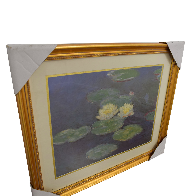 Claude Monet Nympheas Effet Du Soir Print / Decor