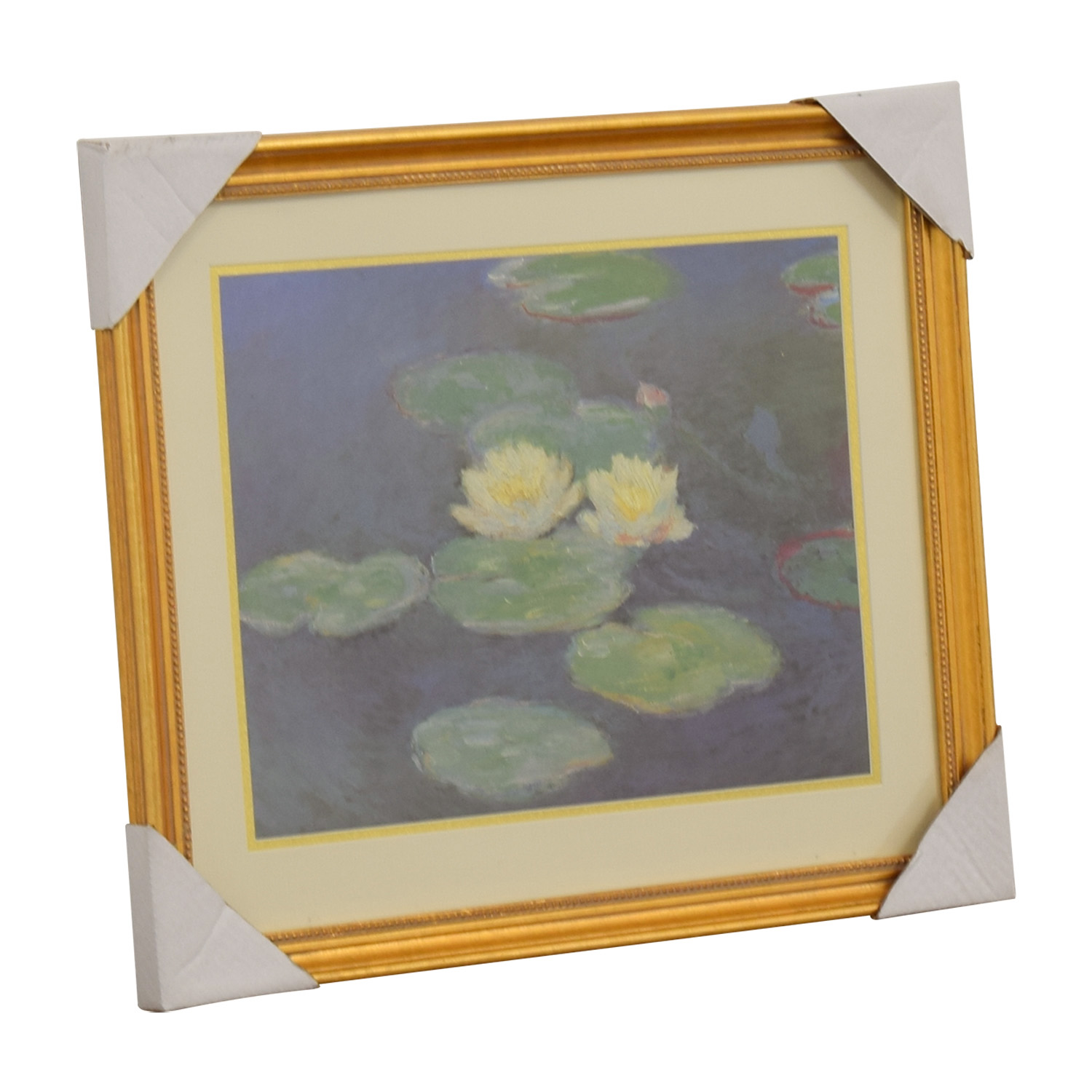 buy Claude Monet Nympheas Effet Du Soir Print Wall Art