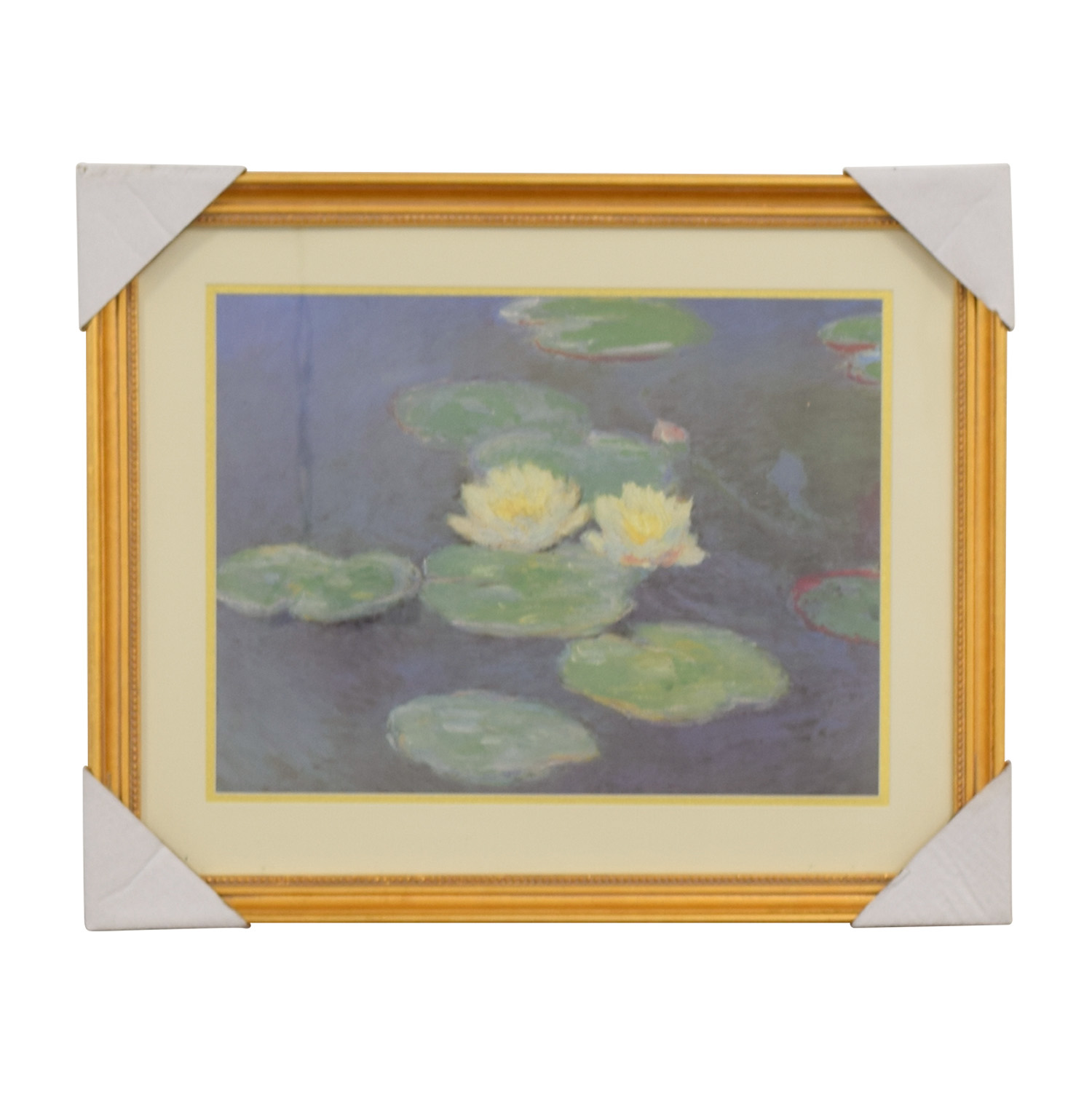 Claude Monet Nympheas Effet Du Soir Print / Wall Art
