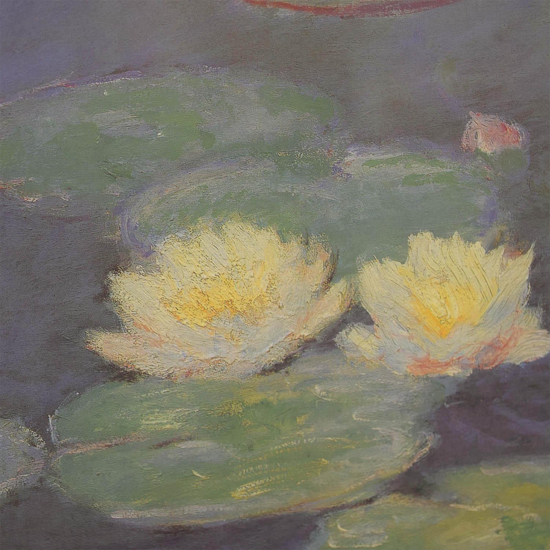 Claude Monet Nympheas Effet Du Soir Print discount
