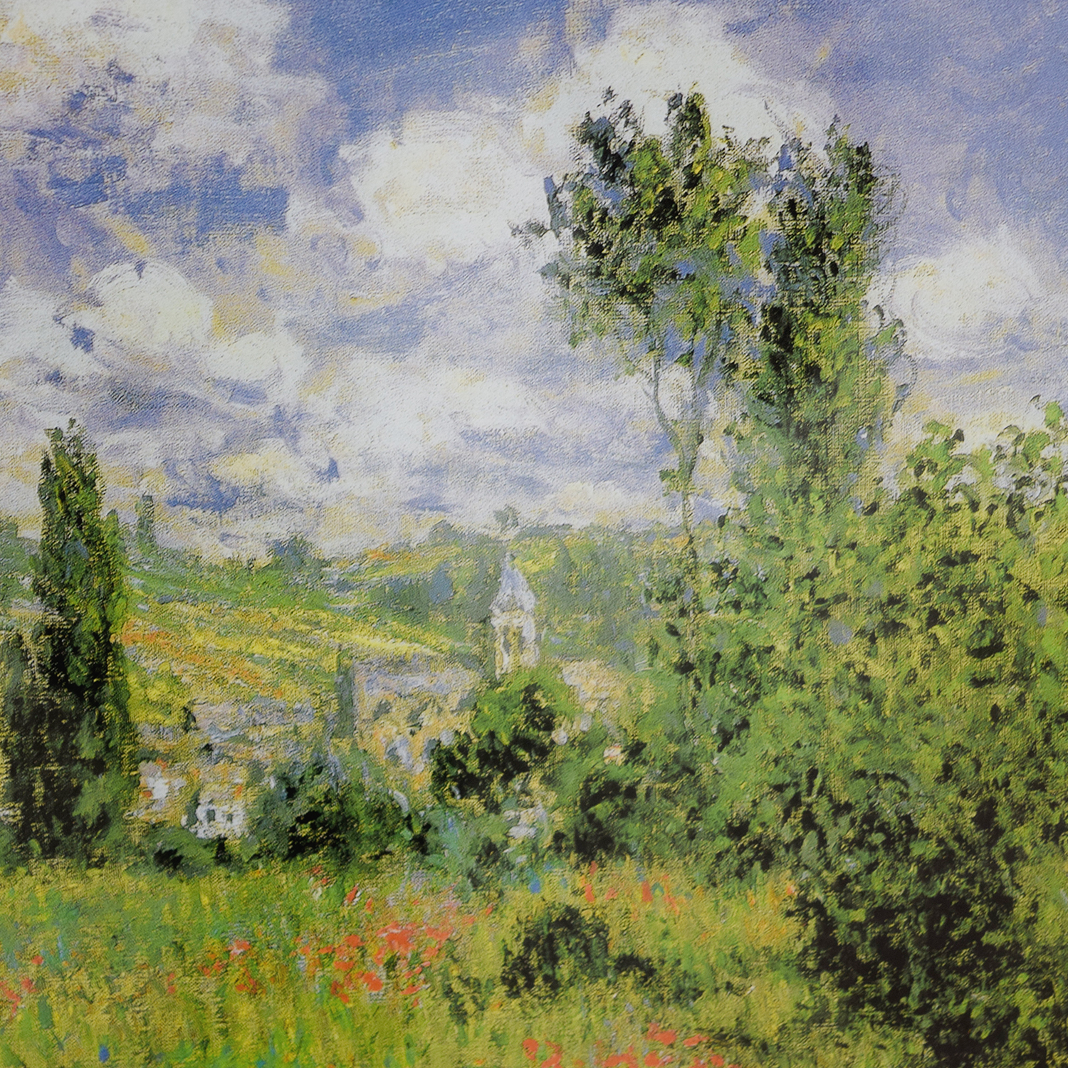 Claude Monet Path Through the Poppies Ils Saint-Martin Print sale