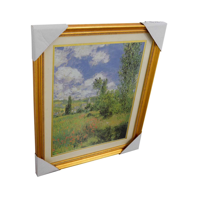 Claude Monet Path Through the Poppies Ils Saint-Martin Print price