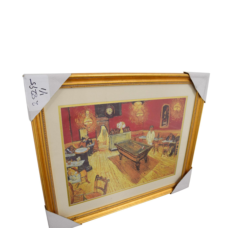 buy Vincent Van Gogh Night Cafe Print