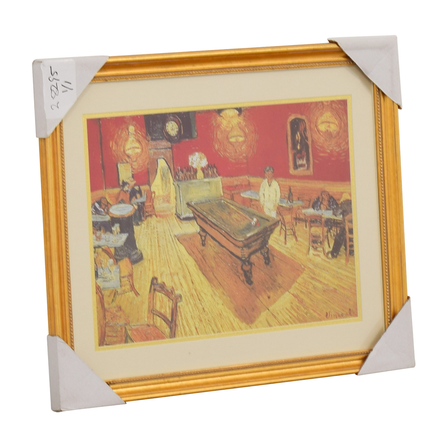 Vincent Van Gogh Night Cafe Print Wall Art