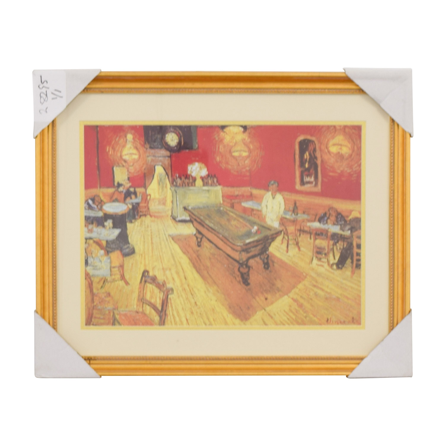 buy Vincent Van Gogh Night Cafe Print Wall Art