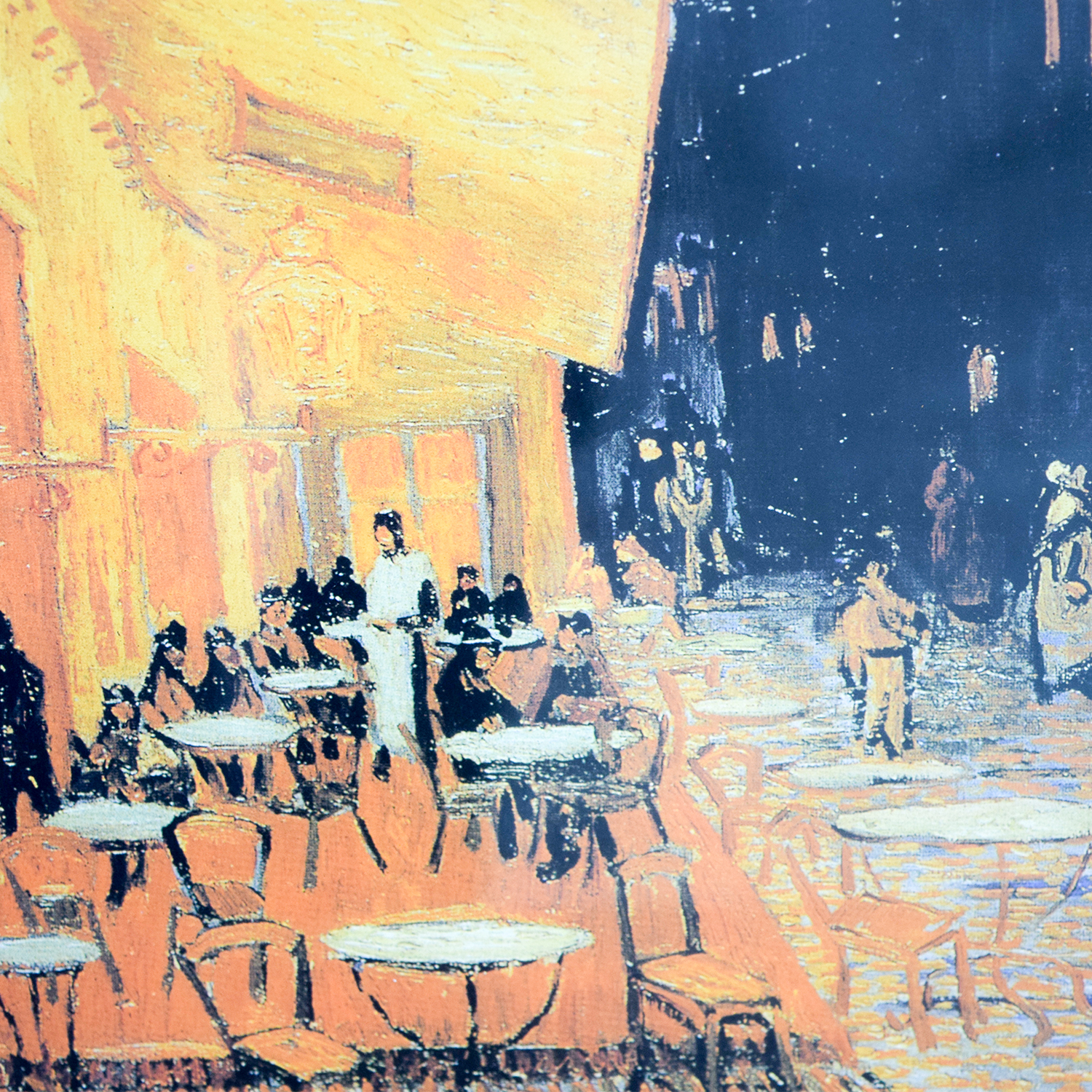 buy Vincent Van Gogh The Cafe Terrace at Night Print Decor