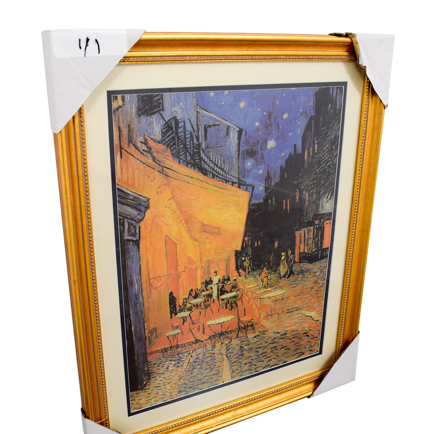Vincent Van Gogh The Cafe Terrace at Night Print dimensions