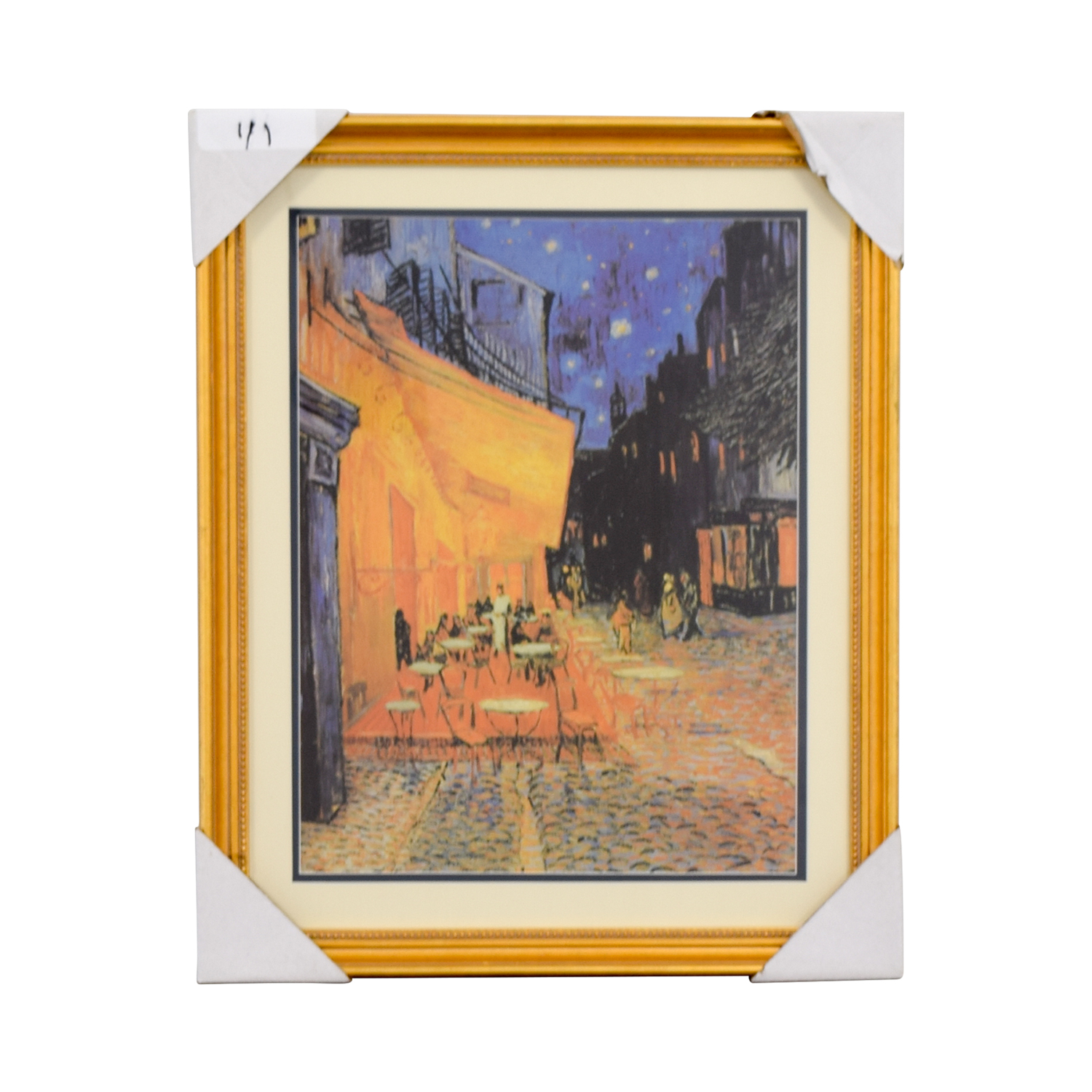 Vincent Van Gogh The Cafe Terrace at Night Print used