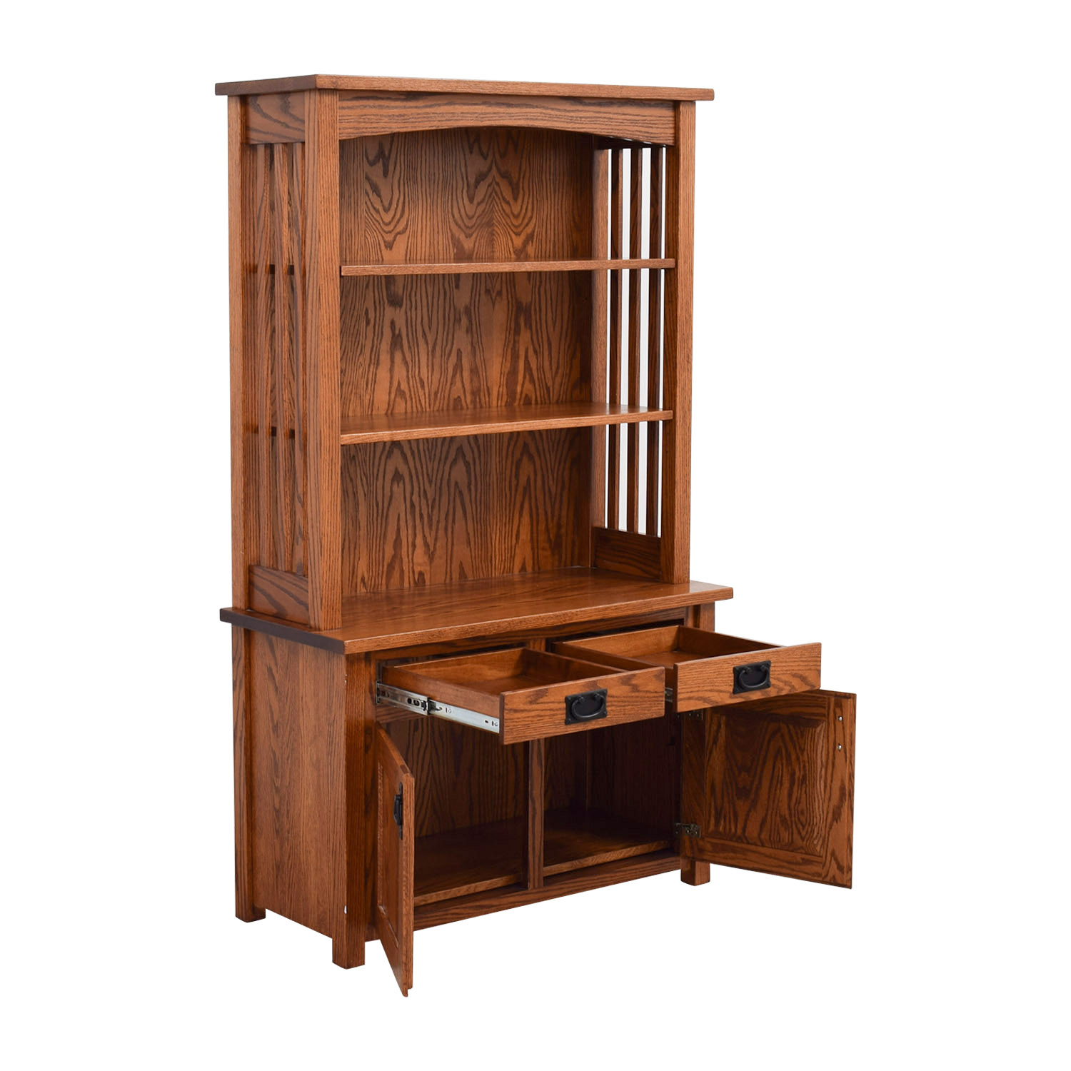 Amish Mission Furniture Amish Mission Hutch Brown