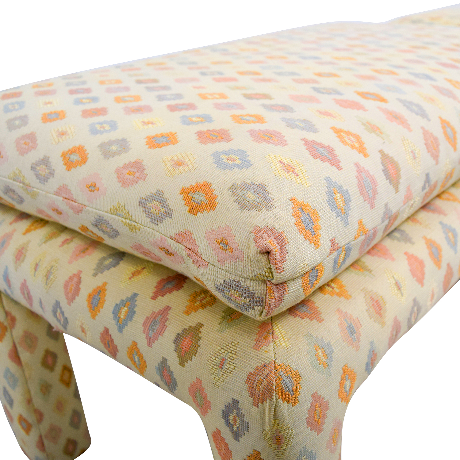 buy Beige Multi-Colored Upholstered Footstools Chairs