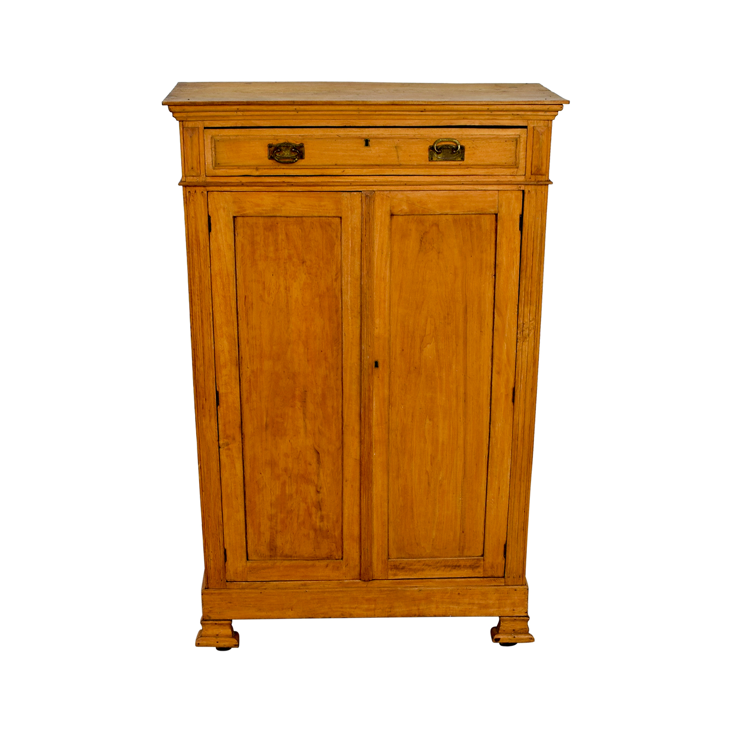 Antique Belgian Hutch Cabinet on sale