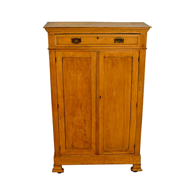 buy Antique Belgian Hutch Cabinet Storage