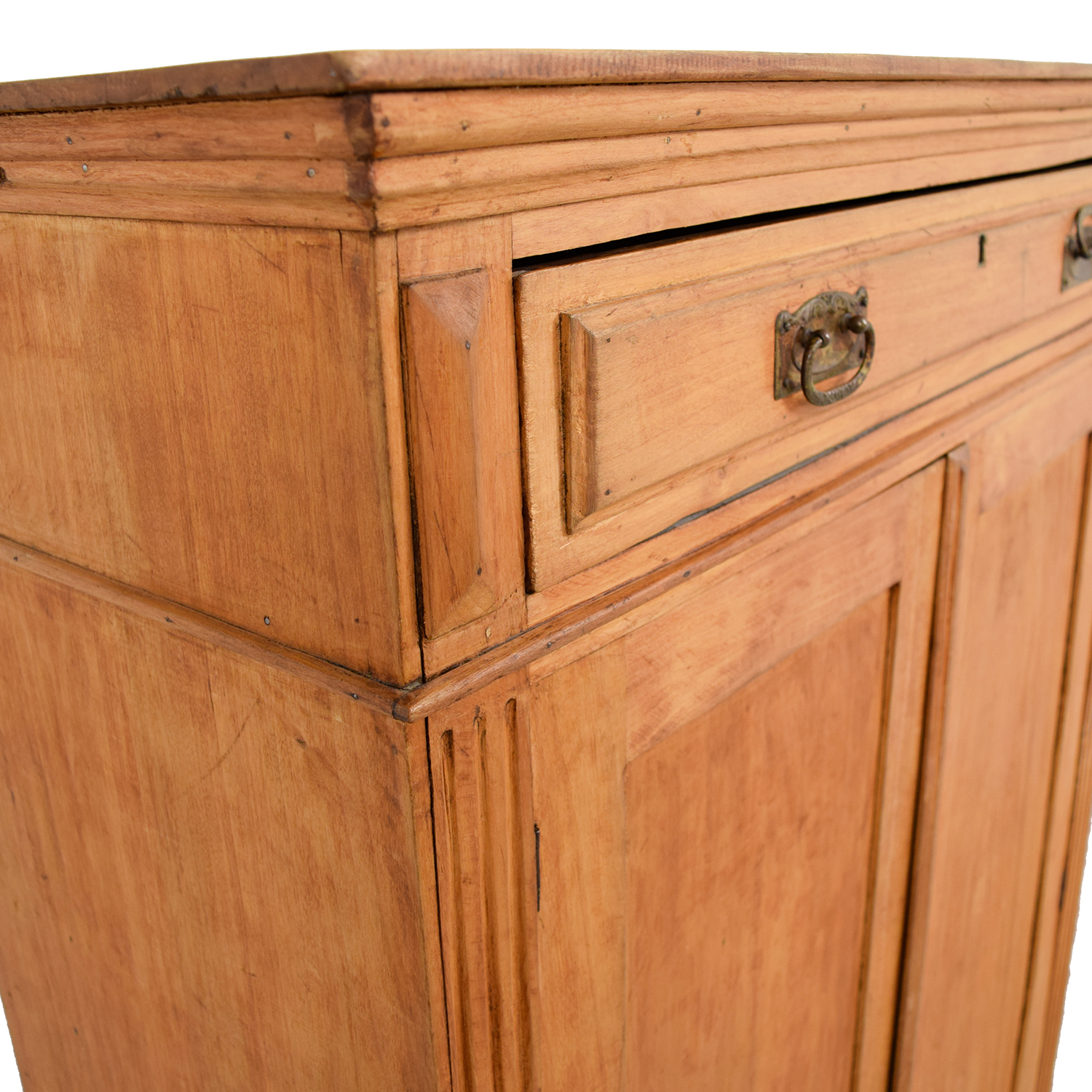 Antique Belgian Hutch Cabinet price