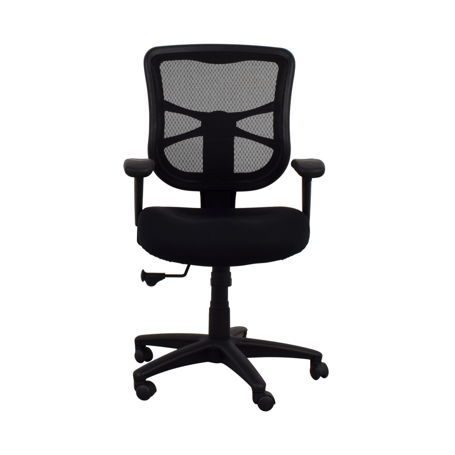 Staples Staples Adjustable Desk Chair second hand  sc 1 st  Kaiyo & 53% OFF - Staples Staples Adjustable Desk Chair / Chairs