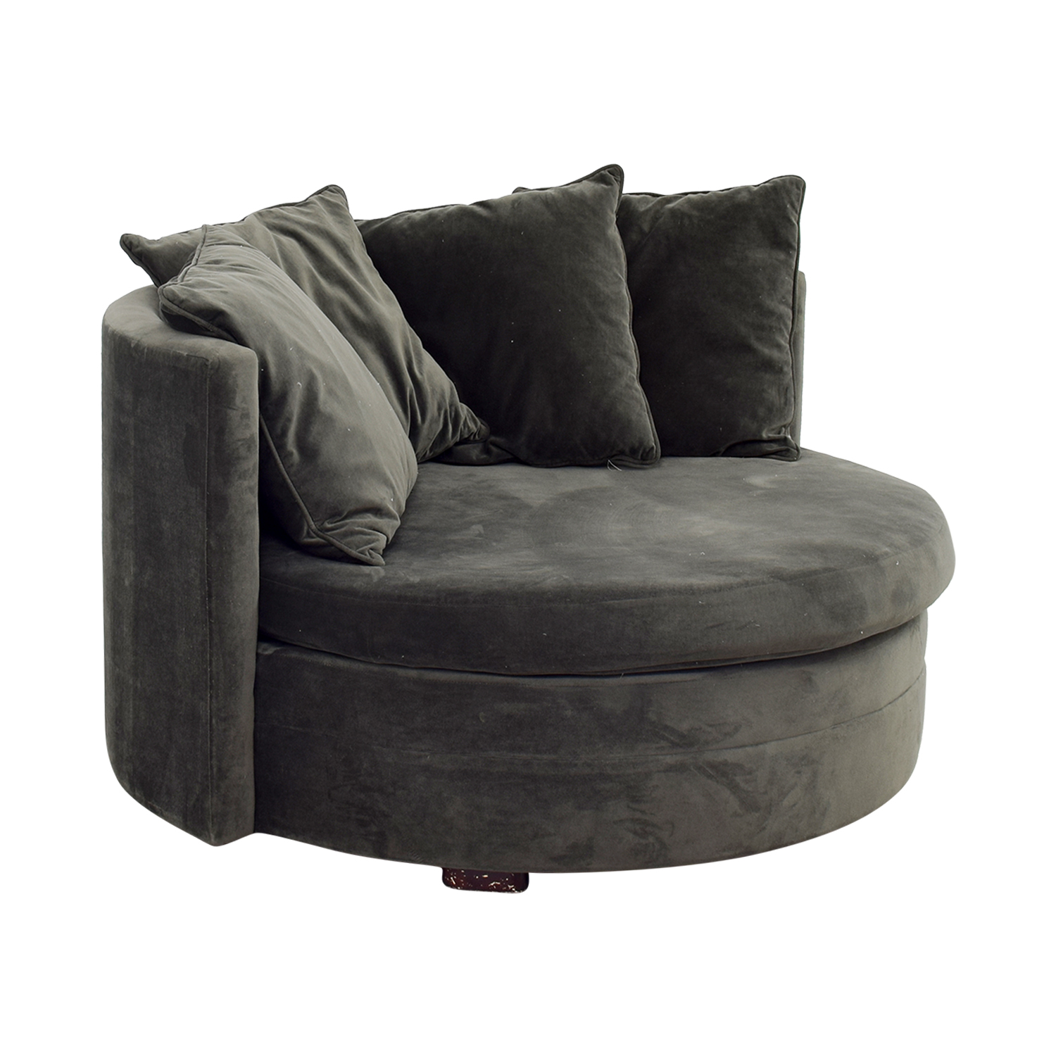 43% OFF e Kings Lane e Kings Lane Green Velvet Love Seat Sofas