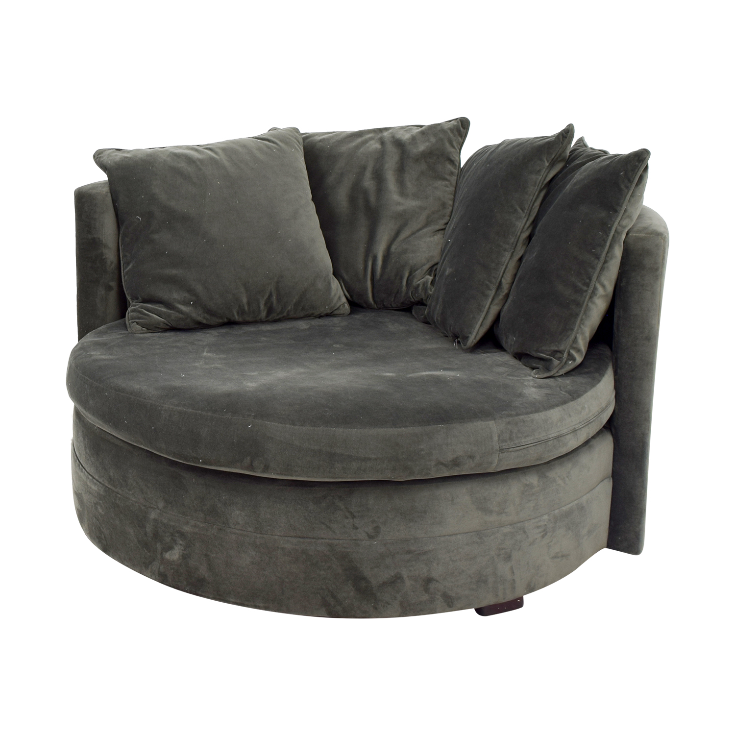 One Kings Lane One Kings Lane Green Velvet Love Seat coupon