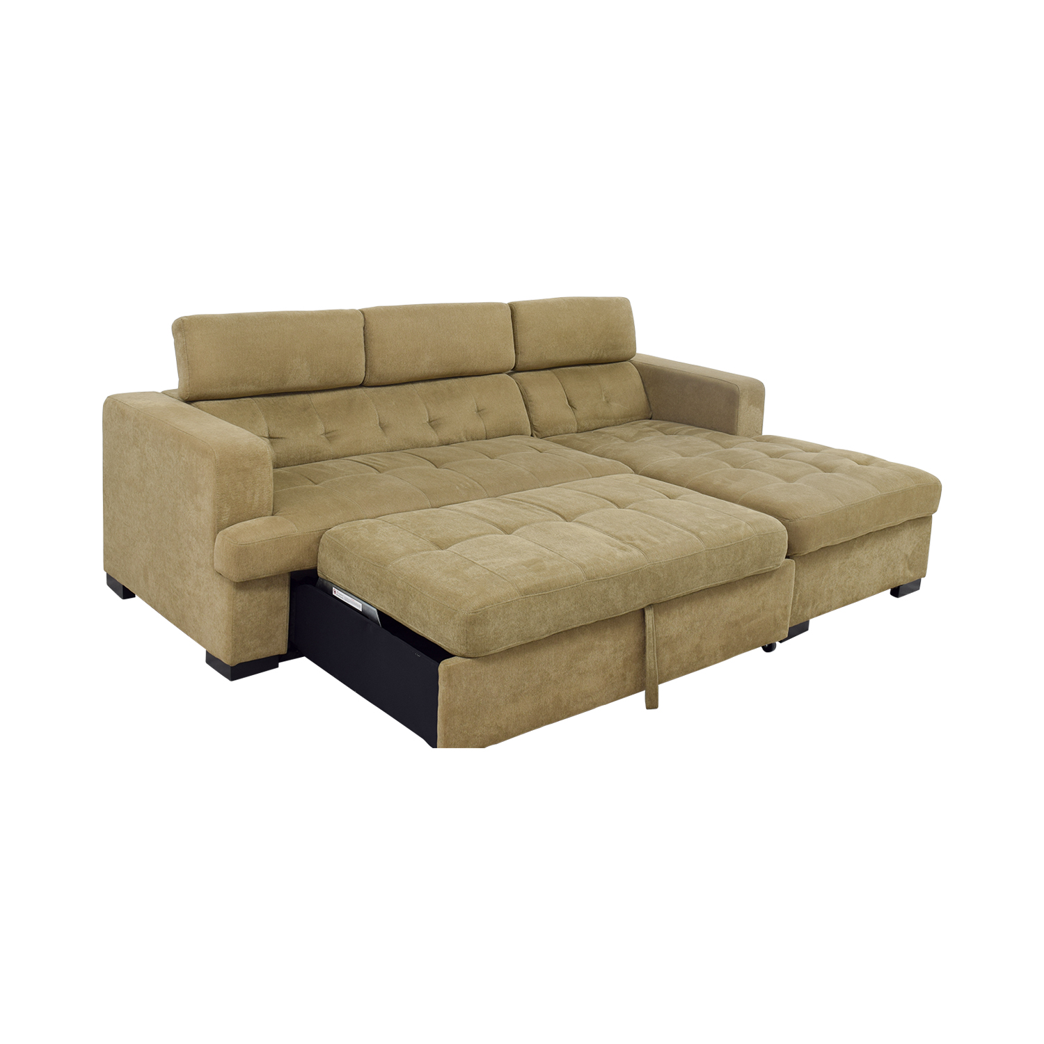 59 off bob 39 s furniture bob 39 s furniture gold chaise