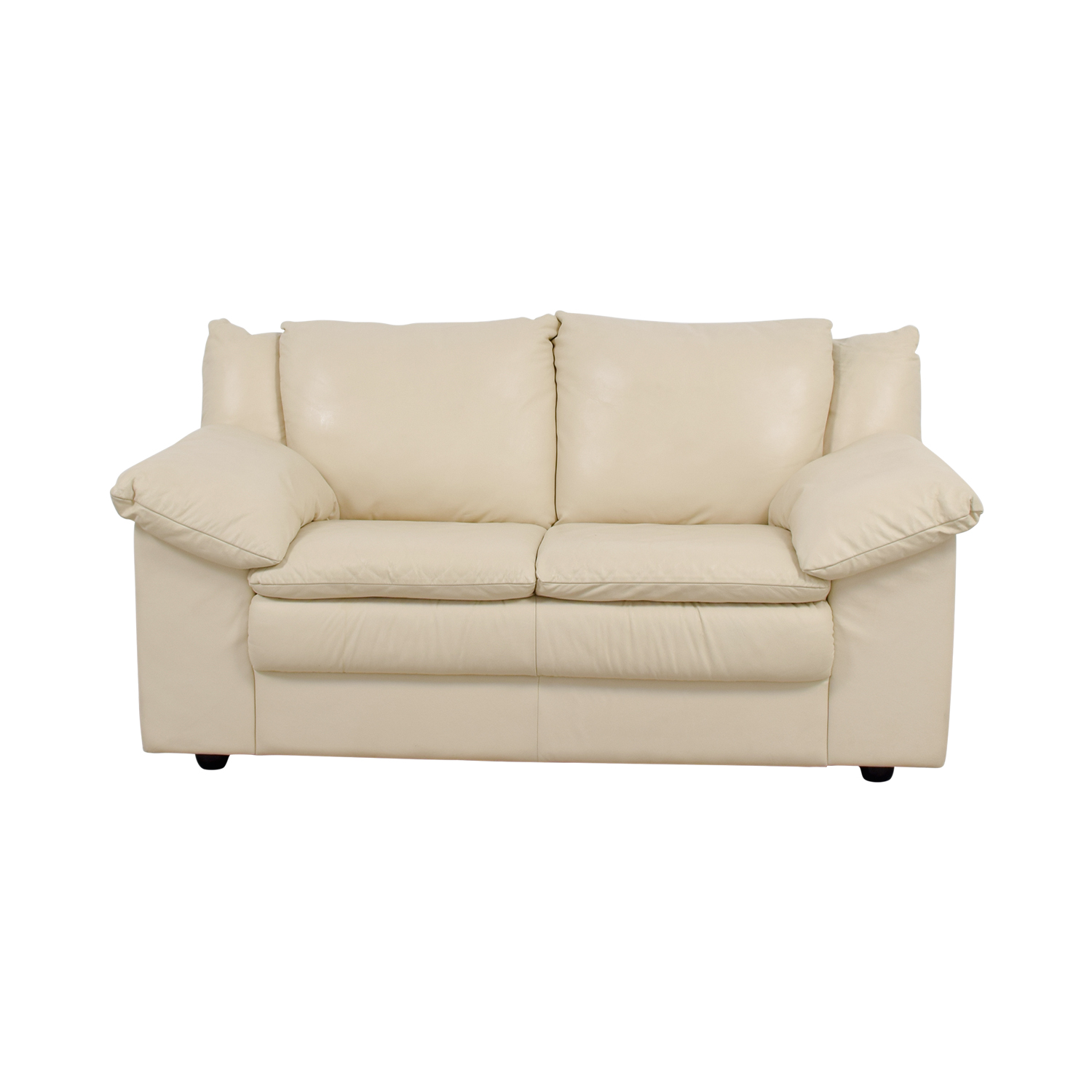 Scan Design Furniture Scan Design Leatherette Loveseat price