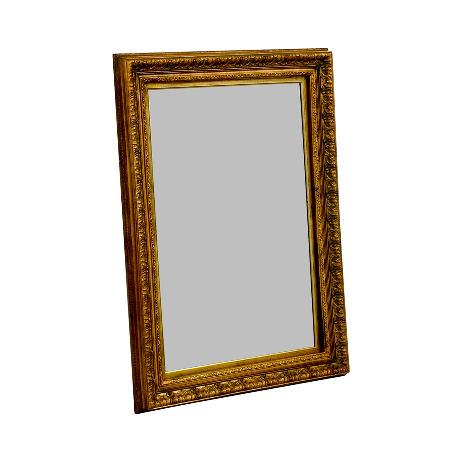 Gold Rectangle Mirror sale
