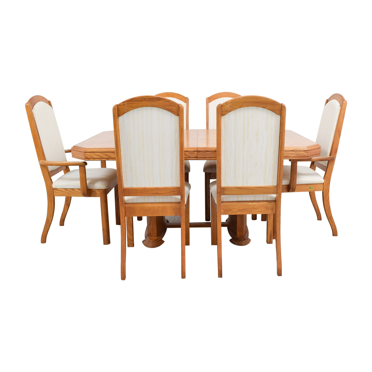 upholstered extending fishpools room and chair limoges dining table chairs