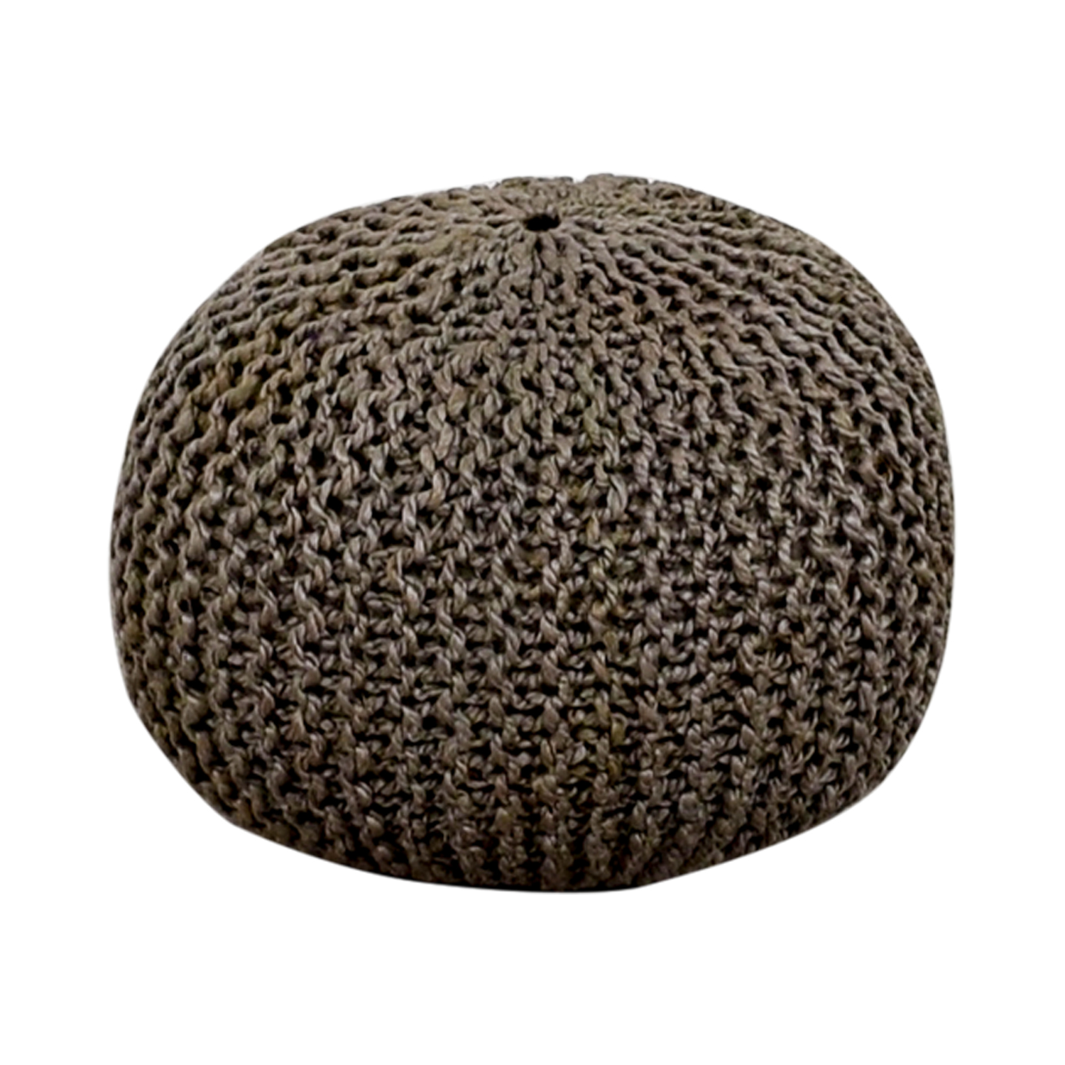 buy Beachcrest Pouf Gray Round Ottoman Beachcrest Pouf Chairs