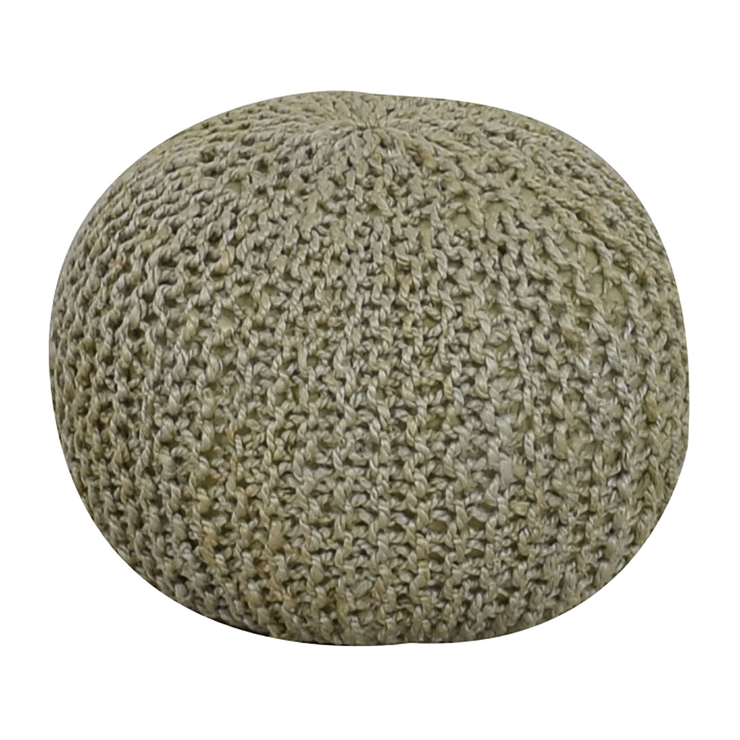 Beachcrest Pouf Beachcrest Pouf Mint Round Ottoman on sale