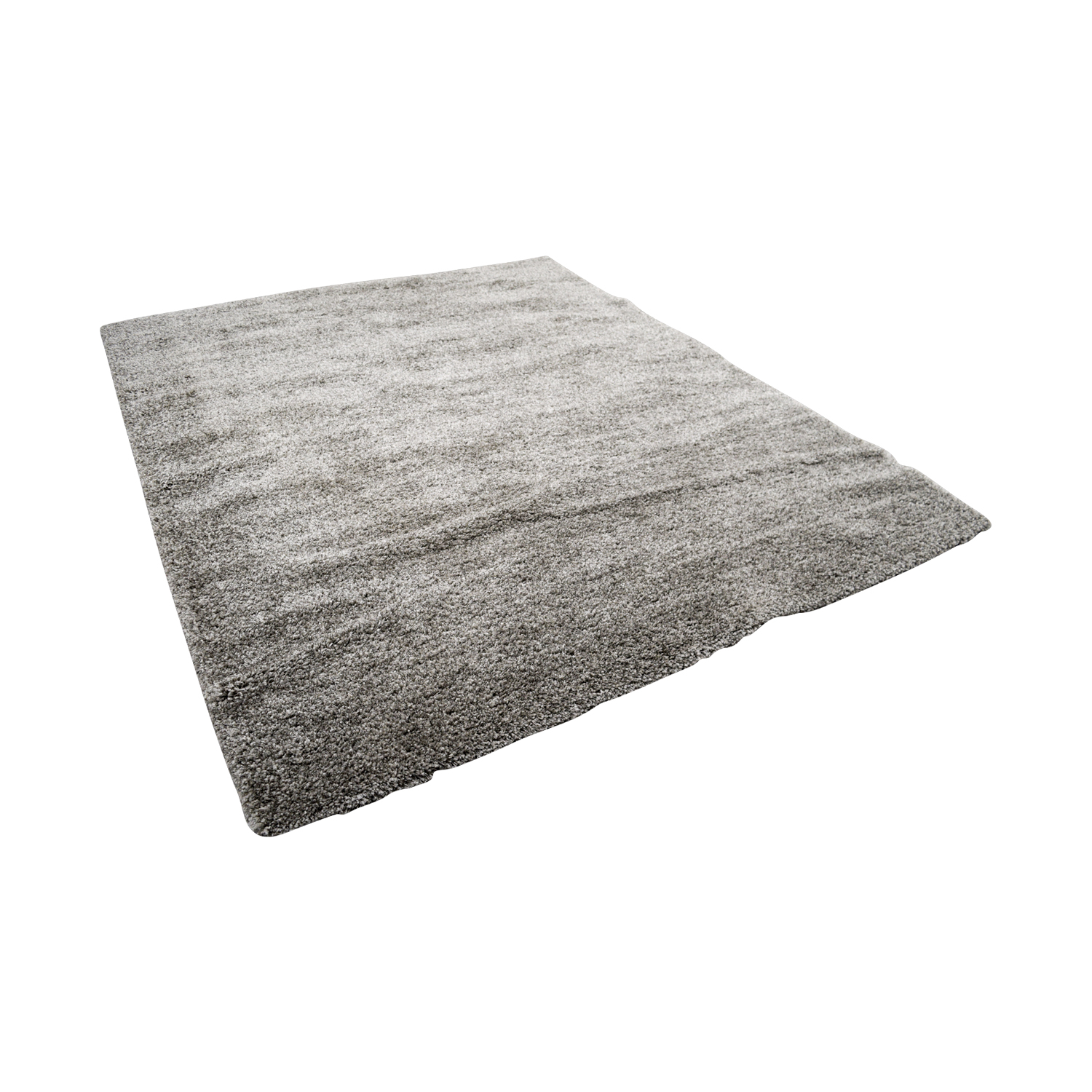 Safavieh Safavieh Braided Light Gray Rectangle Shag Rug on sale