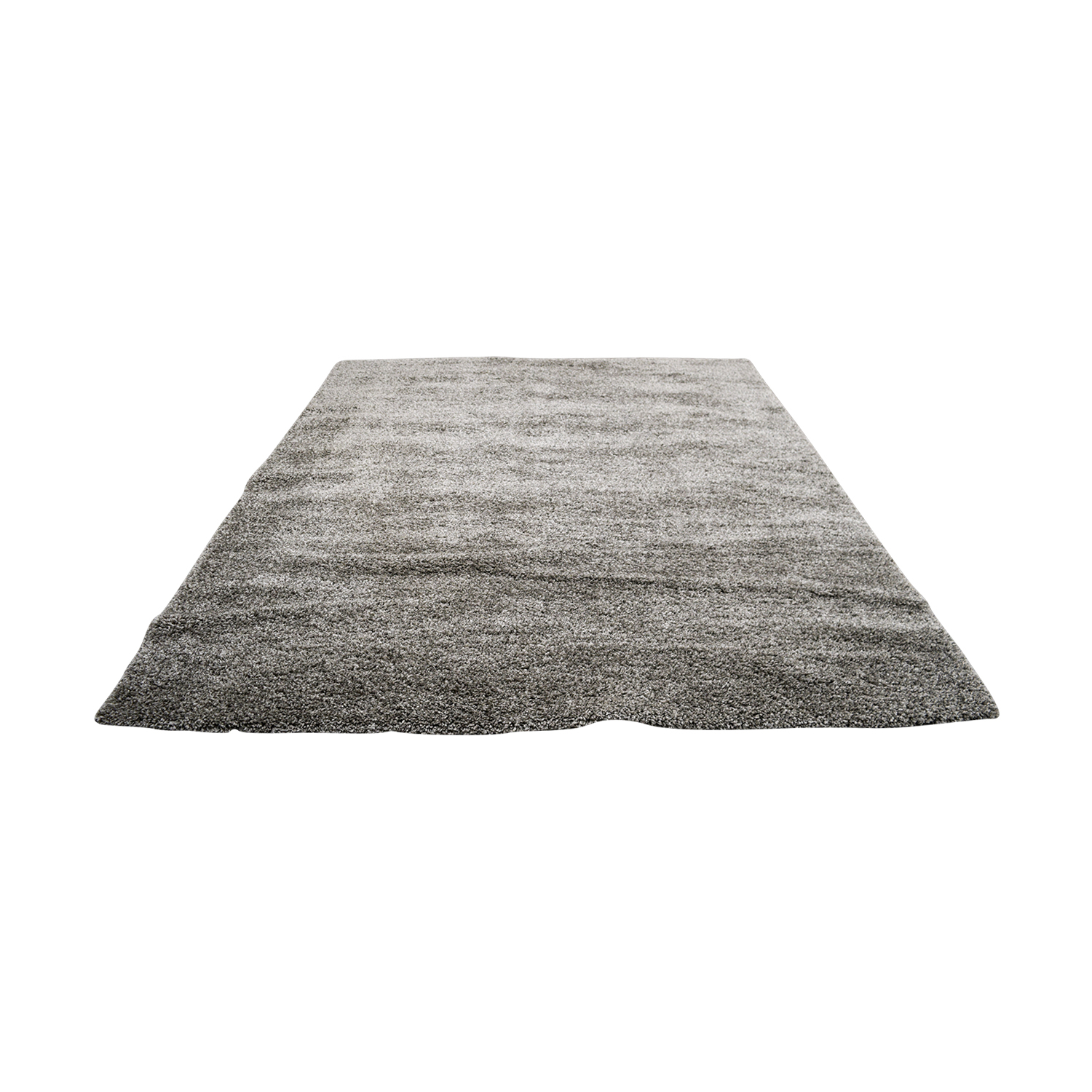 shop Safavieh Safavieh Braided Light Gray Rectangle Shag Rug online