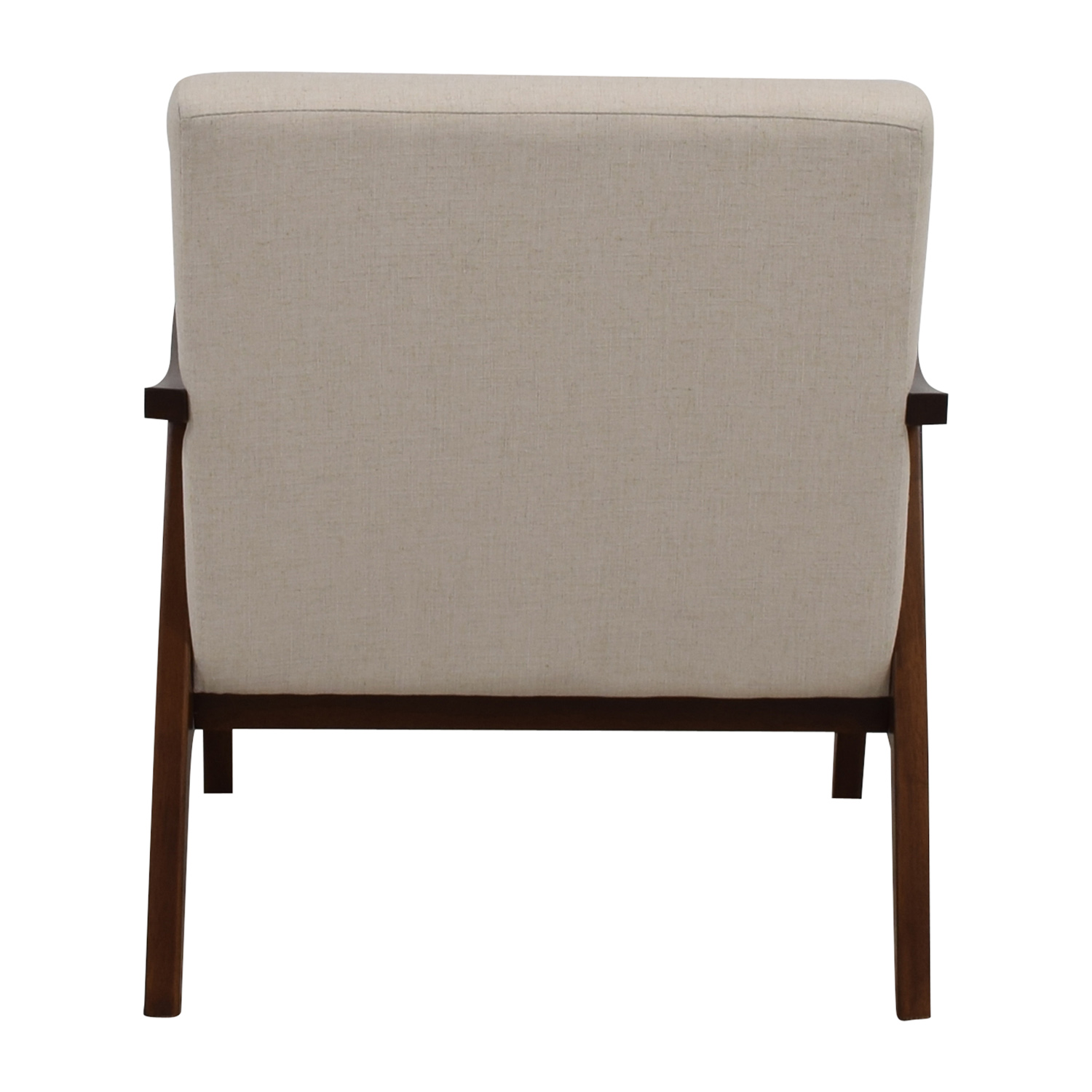 buy Coral Springs White Linen Side Chair Coral Springs