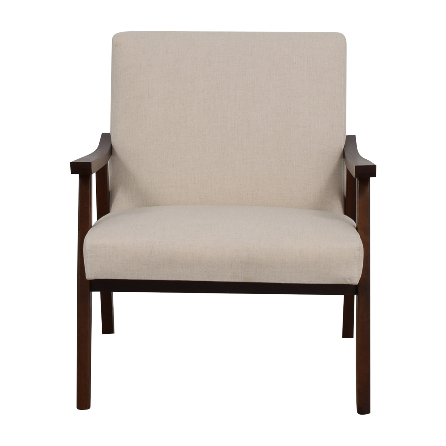 30% OFF Coral Springs Coral Springs White Linen Side Chair Chairs