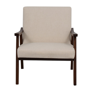 Coral Springs White Linen Side Chair sale