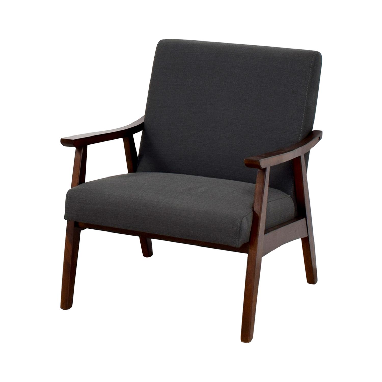 Coral Springs Coral Springs Dark Gray Side Chair on sale