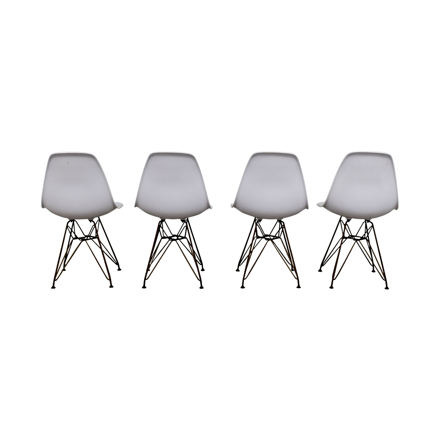 Junia White Side Chairs / Chairs