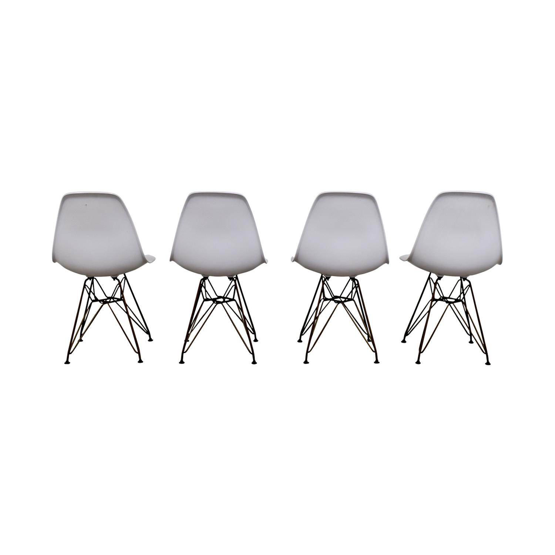 Junia Junia White Side Chairs