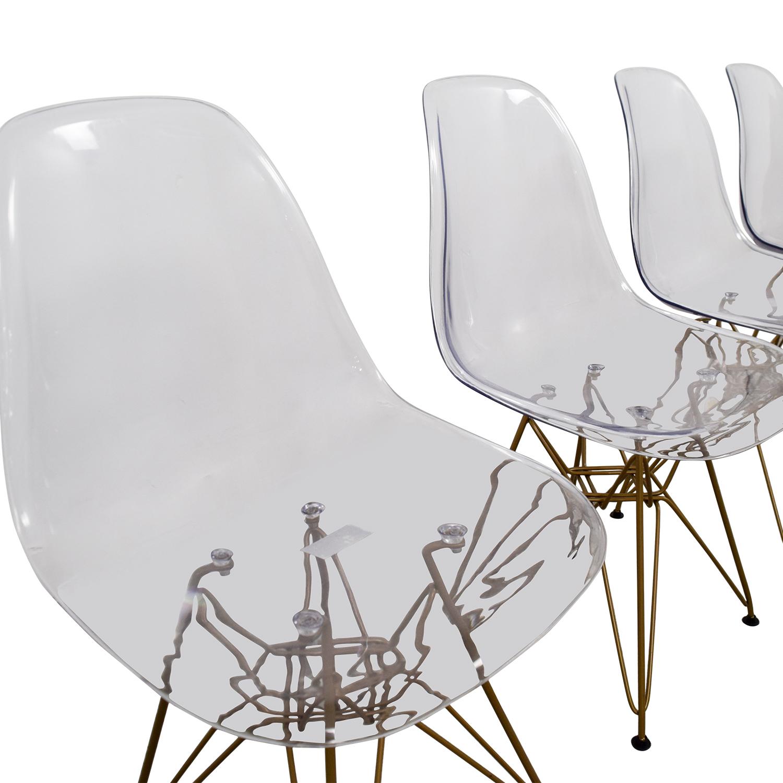 Junia Junia Ghost Chairs dimensions