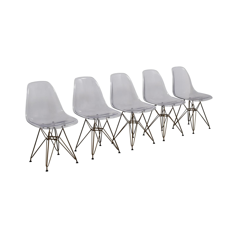 Junia Junia Ghost Chairs Clear