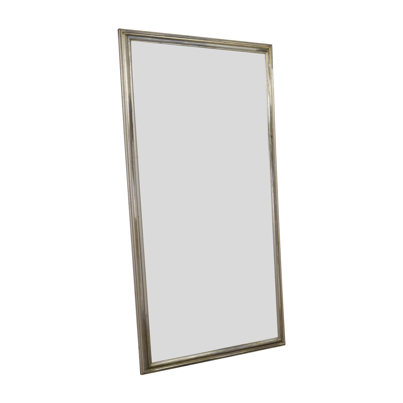 shop Silver Leaf Frame Wall Mirror online