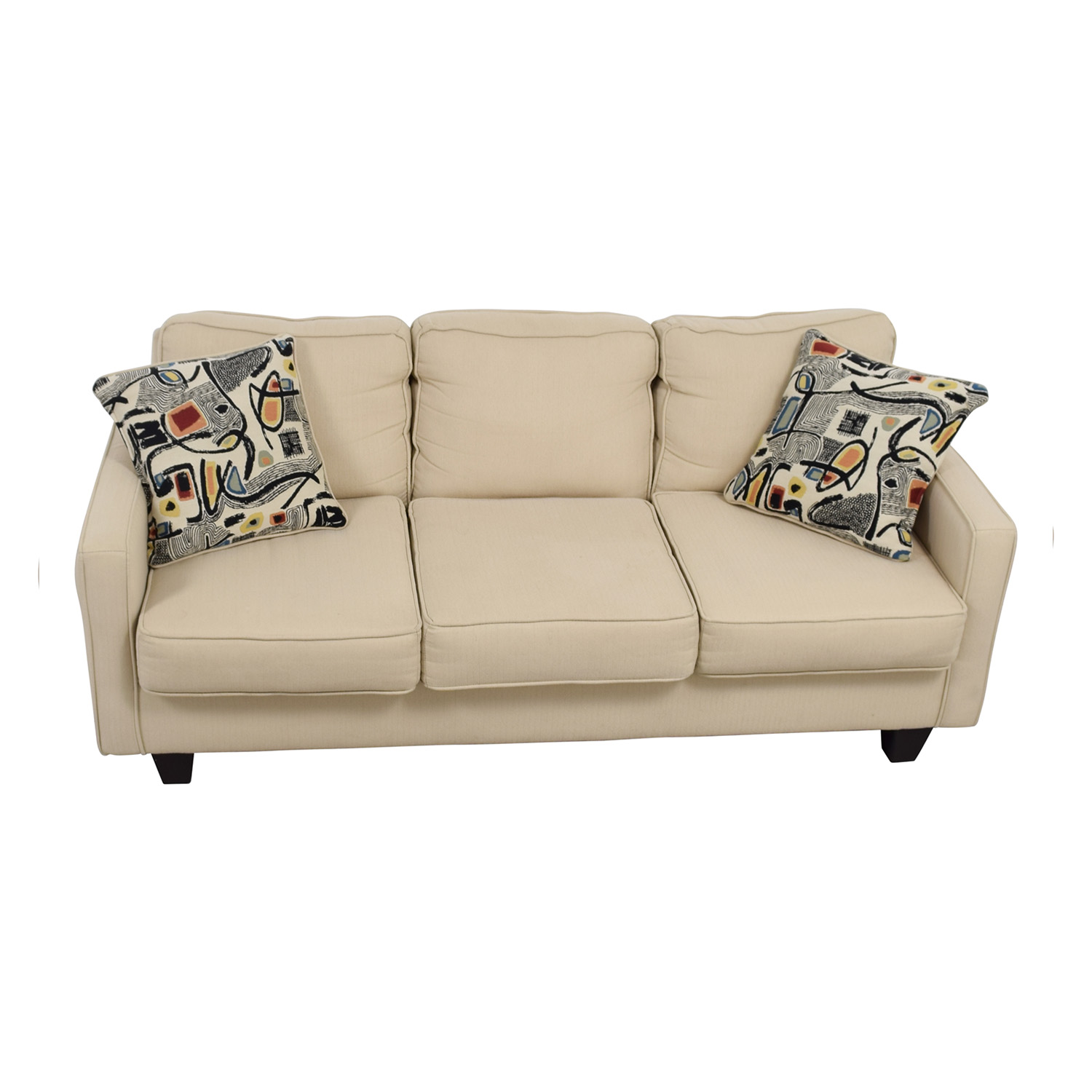 Serta Serta Tan Three-Cushion Sofa coupon